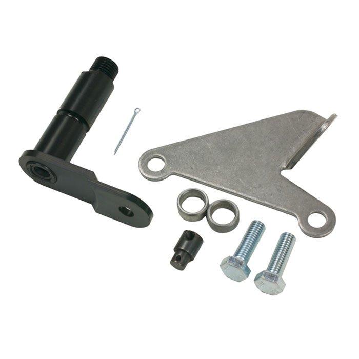 b&m 40496 ford aod trans transmission bracket & lever install kit