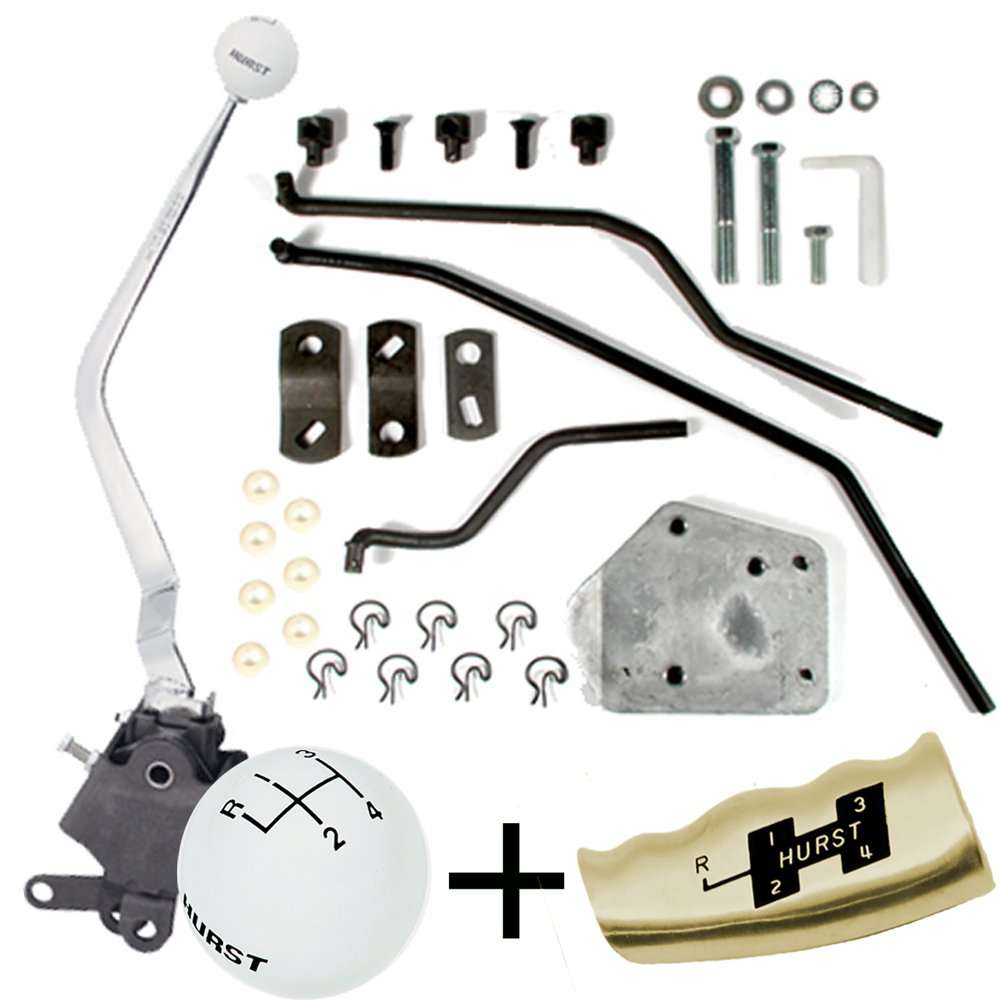 Hurst Comp Plus 4 Speed shifter Kit 65-69 Mustang Cougar GT 350 BW T10