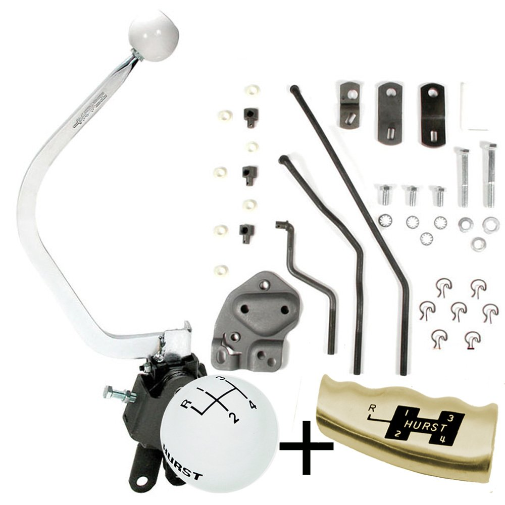 hurst comp plus 4 speed shifter kit 1955 57 chevy early Hurst Shifter Linkage Diagram Hurst Shifter ID Chart
