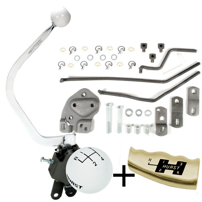 Hurst Comp Plus 4 Speed shifter Kit 1955-1957 Chevy, w 1969 up Muncie