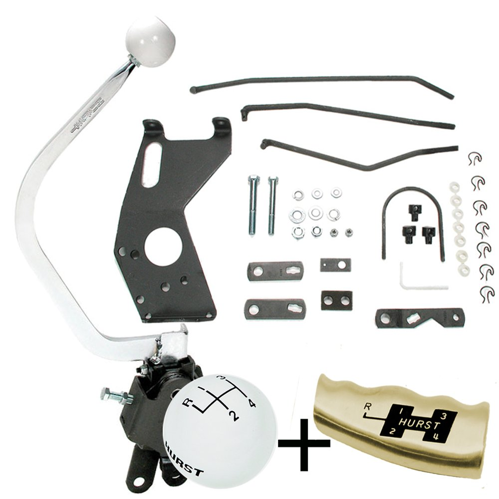 Hurst Comp Plus 4 Speed shifter Kit 1955-1957 Chevy w Saginaw 441