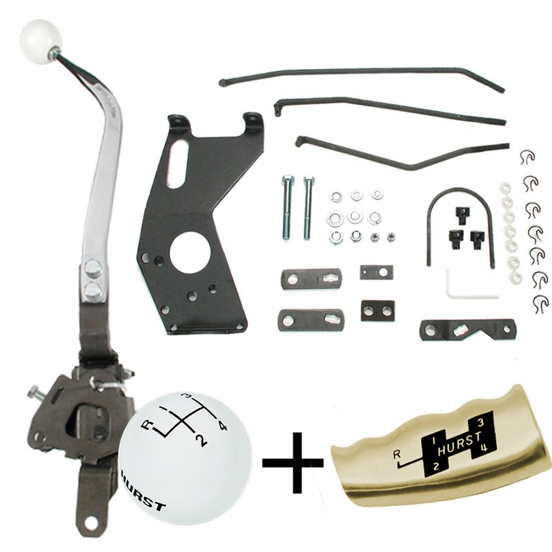 Hurst Comp Plus 4 Speed shifter Kit 1968-72 Chevelle Saginaw Type 441