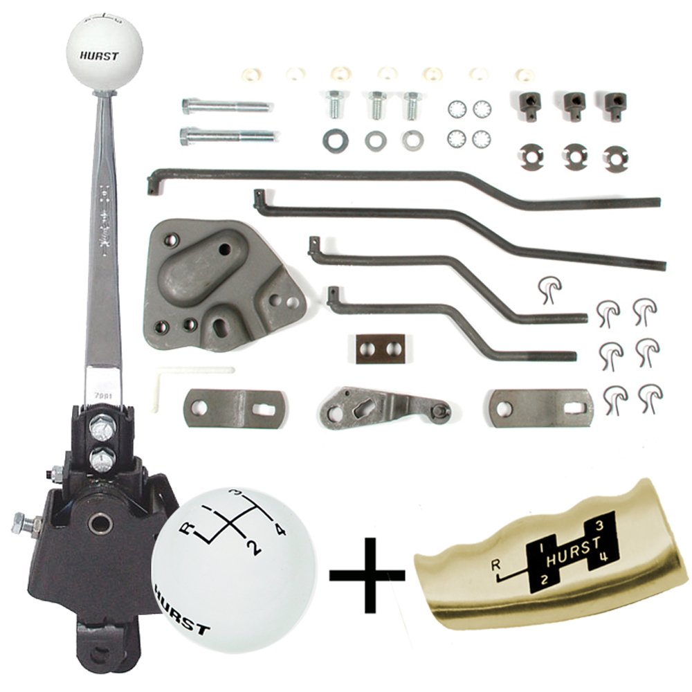 HURST 4 Speed Shifter Kit 1969-79 Corvette with Muncie and BW Super T10
